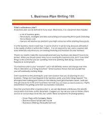 One Page Business Plan Template Bookmylook Co