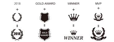 月桂樹や盾の無料素材を使って表彰楯をオシャレにデザイン東京工芸舎