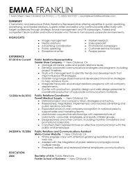 Advertising Specialist Coo Resume Sample Unique Resume Advertising ...