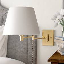 swing arm wall lamp add both style and