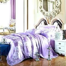 purple light bedding twin xl duvet sets cotton knit pure color cover comforter king regularly peach blossom light purple bedding