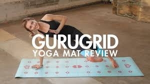 review of the gurugrid yoga mat the ultimate alignment mat