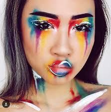 full face makeup