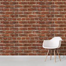 brick wallpaper faux brick effect
