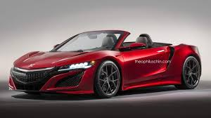 2018 acura nsx convertible.  convertible 2017acuransxroadsterrendering01 for 2018 acura nsx convertible e
