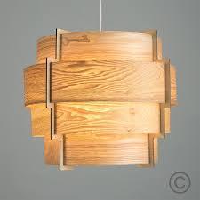 wood veneer lighting. retro tiered drum pendant shade in wood veneer finish light on lighting r