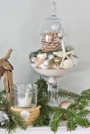 Apothecary Jars Christmas Decorations Coastal Christmas Home Tour Part 100 Sand And Sisal 89