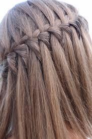Tresse Cascade Facile Si Cheveux Je Peux