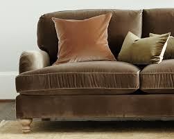 ballard designs eton sofa in signature velvet