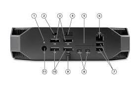 quickspecs hp z2 mini workstation overview front view 1 power