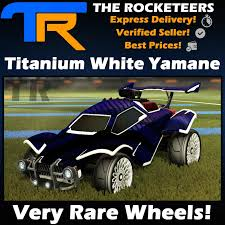 PC] Rocket League Every Painted YAMANE Very Rare Wheels Elevation Crate