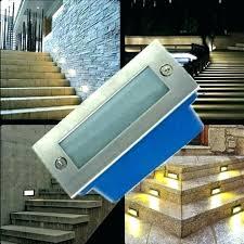 outdoor stairs lighting. Outdoor Stair Lighting Lights Recessed Solar  Fixtures Outdoor Stairs Lighting