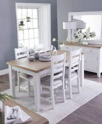 735 48 woodbridge white 4ft extending dining table with 4 chairs