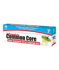 Carson Dellosa Publishing Company Grade 7 Common Core Language Arts State Standards Kit