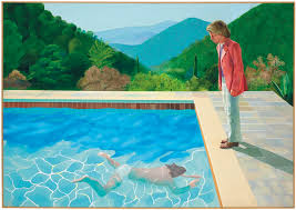 will this painting make david hockney the most expensive living artist when christie s s it this fall