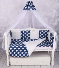 Комплекты в кроватку для новорожденных купить 7 предметов