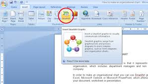 Insert Org Chart In Word How To Make An Organisation Chart Software Ask