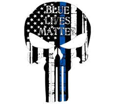 thin blue line punisher blue lives