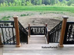 decorative railings. baluster railing on deck stairs decorative railings