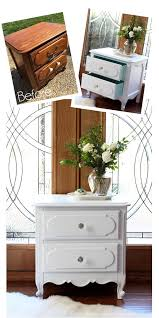 old furniture makeovers. Interesting Makeovers French Provincial Night Table Made Over With Spray Paint From Confessions  Of A Serial Do Inside Old Furniture Makeovers L