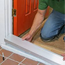front door repairstep by front door repair  Replacing a Sill and Threshold  Front