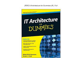 Action Plan In Pdf Classy PDF] It Architecture For Dummies R Full