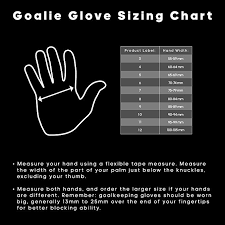 Goalkeeper Glove Size Chart Adidas Performance Predator Junior Goalie Glove