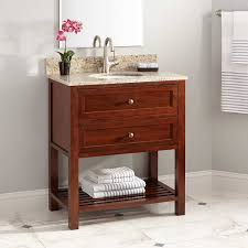 Bamboo Bathroom Sink 30 Taren Narrow Depth Bamboo Vanity For Undermount Sink Light