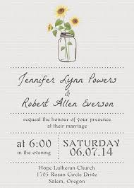 simple rustic wedding invitations with sunflower mason jars ewi355 Wedding Invitations Jars simple sunflower mason jars wedding invitation ewi355 wedding invitations rsvp