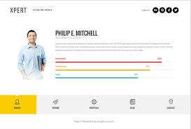 Wordpress Resume Theme Best 48 Best CV Resume WordPress Themes 48