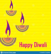 Diwali Diya Designs Photos Happy Diwali Diya Oil Lamp Design Stock Vector
