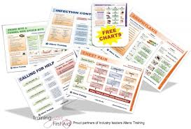 Free Downloadable Coloured First Aid Chart Cards
