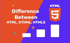 HTML vs HTML5 vs XHTML: Understanding the Difference - Hackr Blog