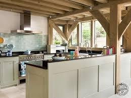 Shaker Style Kitchen Shaker Style Oak Framed Kitchen Interior