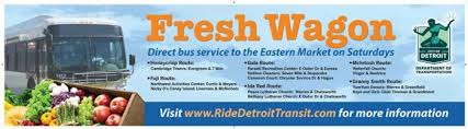 Detroit Department Of Transportation Detroit Department Of Transportation Brings Back Fresh Wagon To