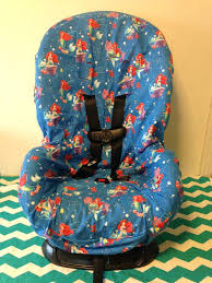 leopard toddler car seat ready to ship cover the little mermaid print