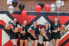 Prep volleyball gallery: Victory for Hawks during Senior Night   MLTnews.com