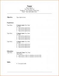 resume template free resume templates microsoft resume word template free 6 intended for microsoft word formatting a resume in word 2010