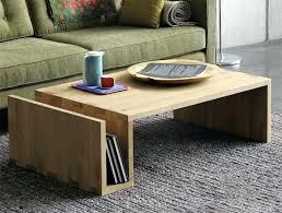 country minimalist pure solid wood furniture retro coffee table ecological wax side with drawer tables uk design