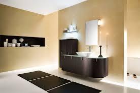bathroom paint ideas brown. Astounding Cream Bathroom Paint Ideas Also Contemporary Brown Wall Mount Vanities Plus Shelves And Vessel Sink