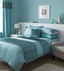 stunning duck egg blue duvet set with matching curtains available in cover idea 7