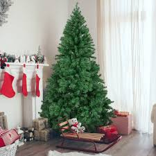 best choice s 6ft premium hinged artificial pine tree holiday decoration w solid metal stand 1 000 tips easy embly green walmart