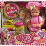 Купить <b>Кукла Dimian NENA шеф-повар</b>, 36 см (BD387) недорого в ...