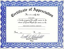 Free Printable Editable Certificates Gorgeous Certificate Template Appreciation Free Example 48 SearchExecutive