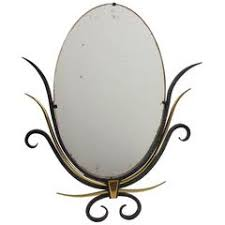 table mirror: s french vanity table mirror gilded brass and cast iron