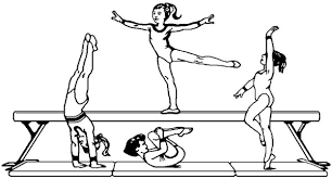 Small Picture Gymnastics Coloring Pages Best Coloring Pages For Kids