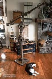 industrial lighting diy. diy vintage big floor lamp industrial lighting diy