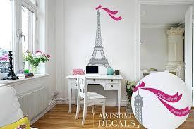 zoom eiffel tower decal stickers for walls nursery wall decor