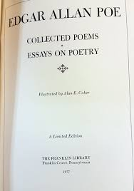 poems essays edgar allan poe gohd books