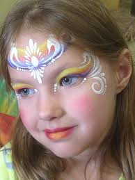 karen sawyer one stroke tear drop princess face painting